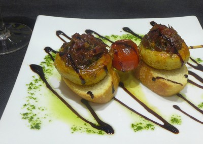 hot «pintxos»