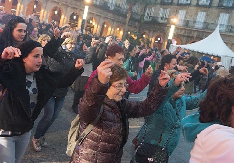 basque fest romeria plaza nueva